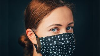 Homemade face masks contain the coronavirus only a little.