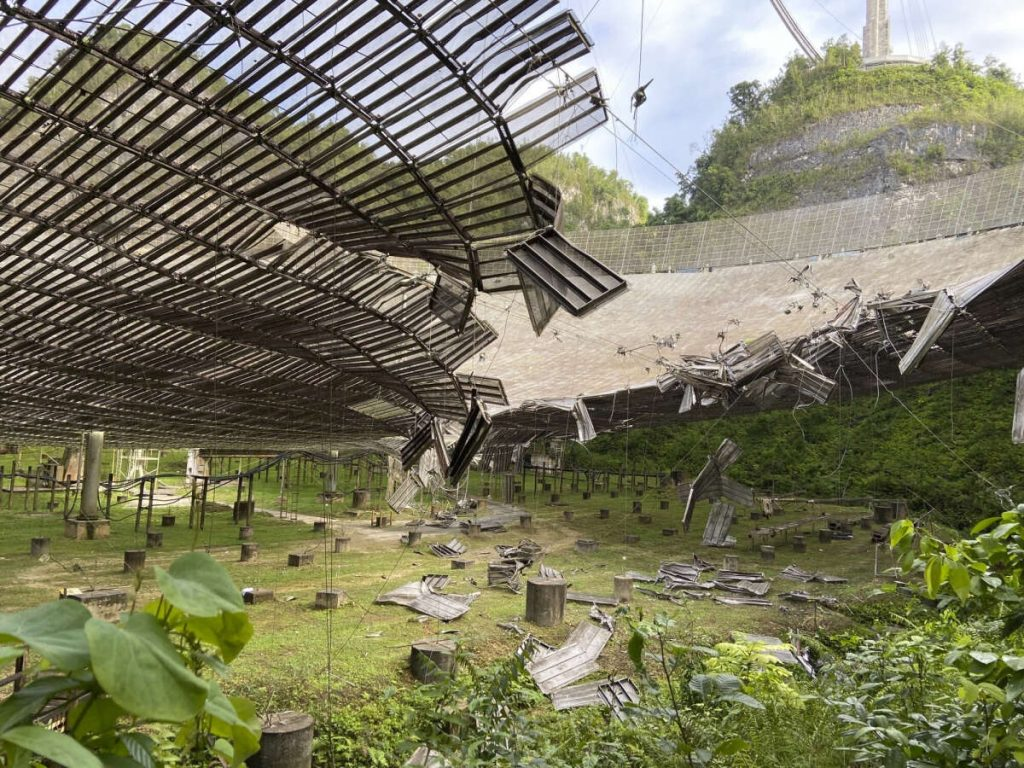 Goodbye, Arecibo! The legendary observatory is closed due to wear and tear of the structure .