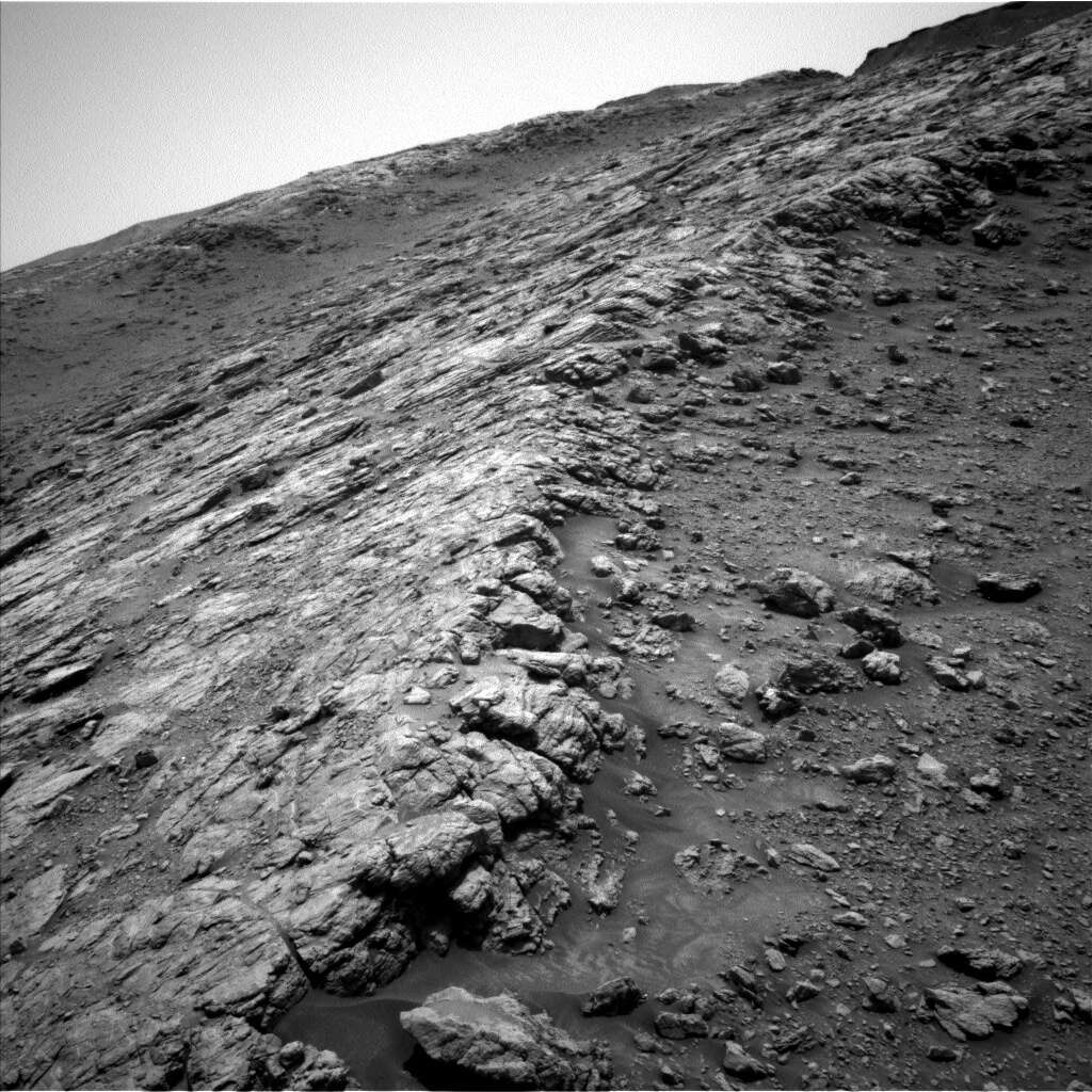 Mars, Curiosity, 2951-2953 day: Mountain battle
