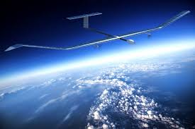 What does the largest unmanned aerial satellites look like and what does it need for?