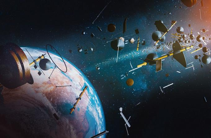 Ion sound waves can help locate space debris